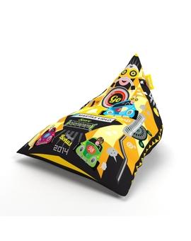 Sedací vak Triangle Tag Yellow | Wegett