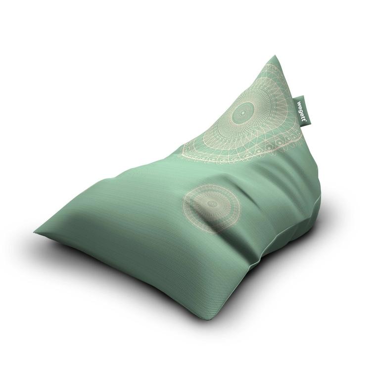 Sedací vak Triangle Lace Mint | Wegett