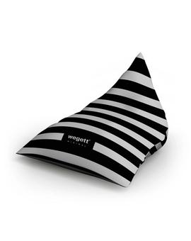 Sedací vak Triangle Minimal Zebra | Wegett
