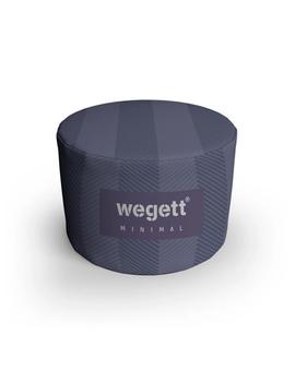 Sedací vak Taburet Minimal Purple | Wegett