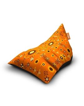 Sedací vak Triangle Garden Orange | Wegett