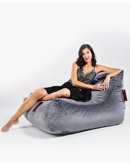 Sedací vak Lounge XXL Luxury Grey | Wegett