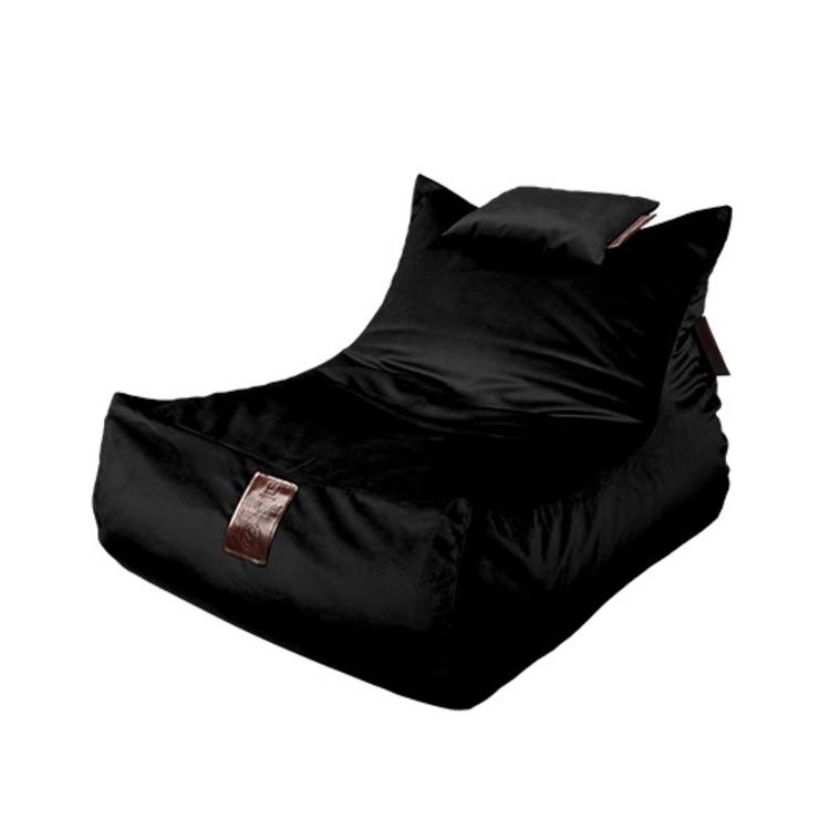 Sedací vak Lounge XXL Luxury Black | Wegett
