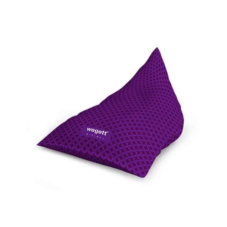 Sedací vak Triangle Minimal Home Purple   Wegett