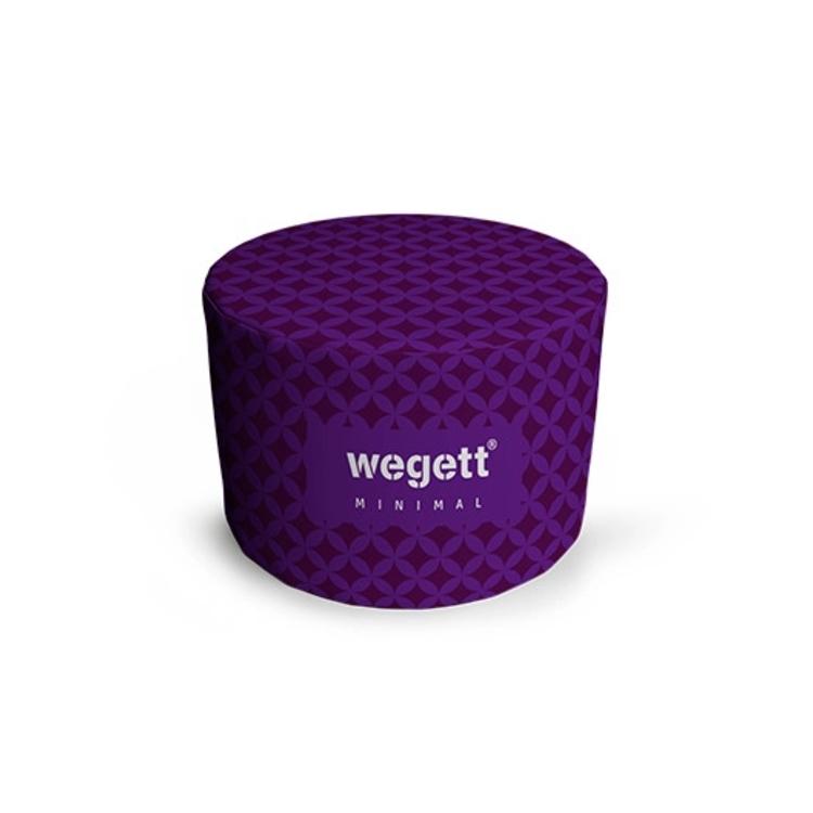 Sedací vak Taburet Minimal Home Purple   Wegett