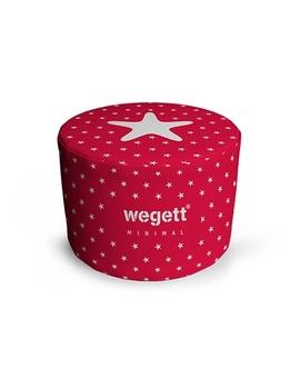Sedací vak Taburet Minimal Red | Wegett