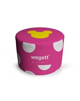 Sedací vak Wegett Taburet Minimal MM Pink