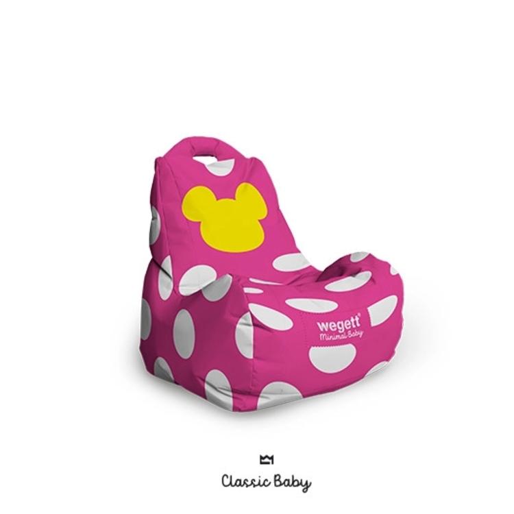 Sedací vak BABY Classic MM Pink   Wegett