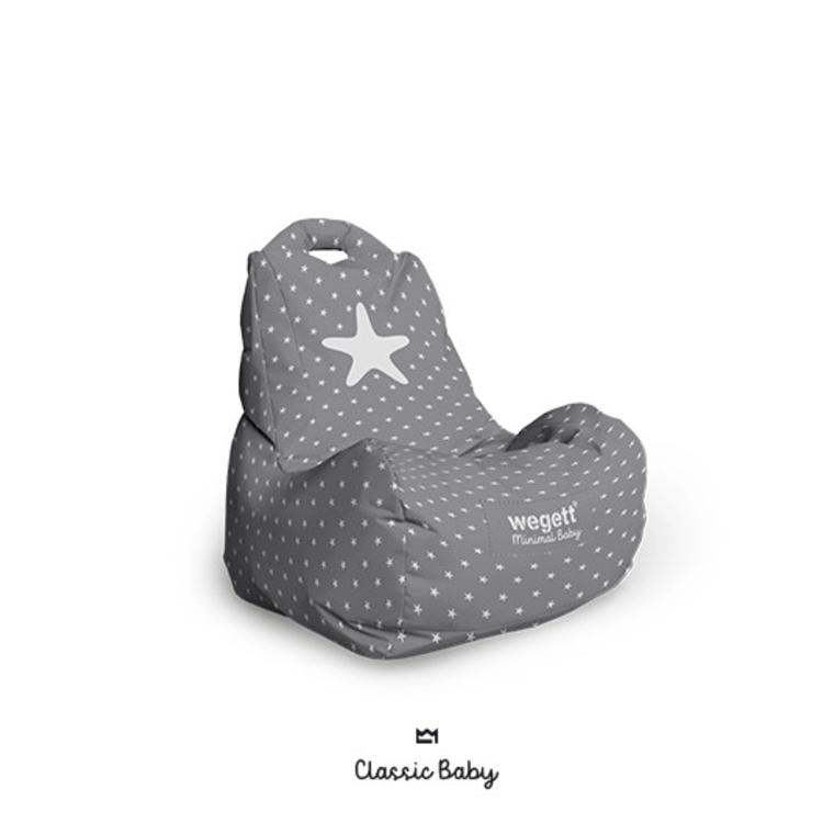 BABY Classic Star Grey
