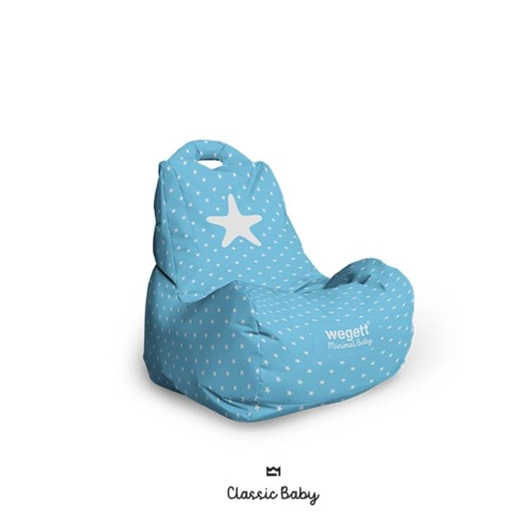 Sedací vak BABY Star Light Blue   Wegett