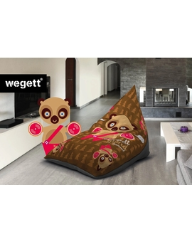 Sedací vak Triangle Bear | Wegett