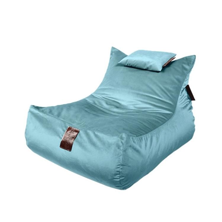 Sedací vak Lounge XXL Luxury Light Blue | Wegett