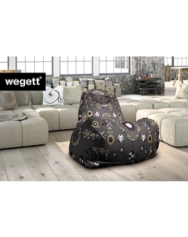 Sedací vak Classic Garden Grey | Wegett