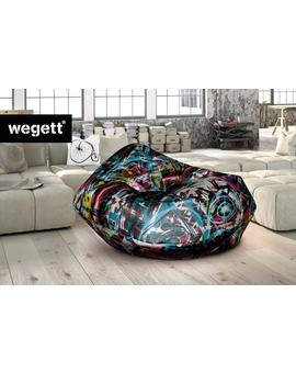Sedací vak Cocoon XXL Grafiti 2 | Wegett