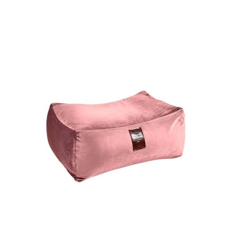 Sedací vak Taburet XXL Luxury Old Pink | Wegett