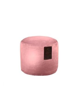 Sedací vak Taburet Luxury Old Pink | Wegett