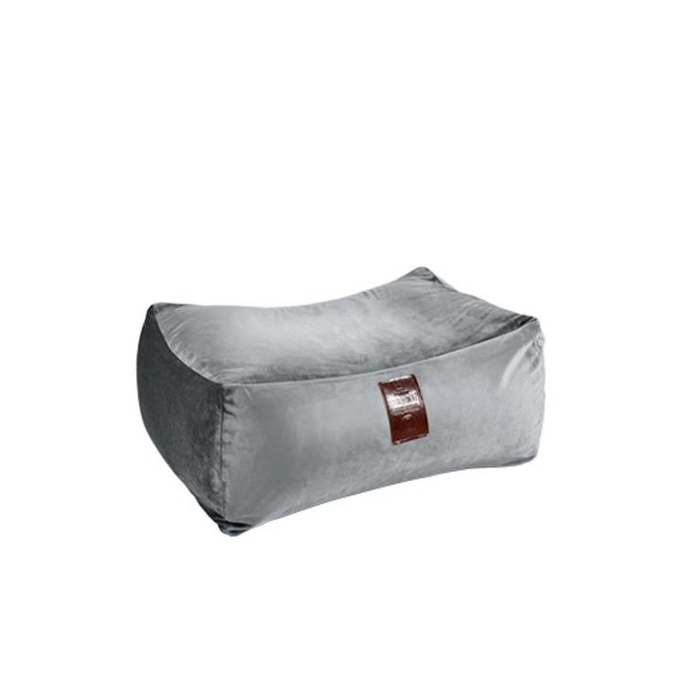 Taburet XXL Luxury Silver