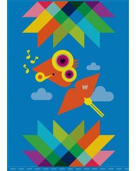 Sedací vak Triangle Bird | Wegett