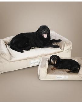 Hundebett Luxury Gold