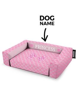 Psí pelíšek potisk Princess Pink