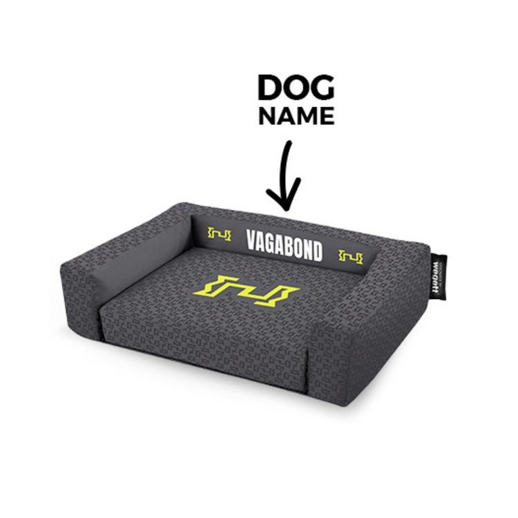 Pelech pre psov tlač Vagabond Grey