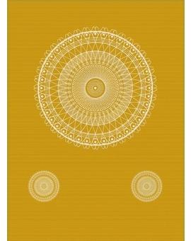 Sedací vak Triangle Lace Curry | Wegett