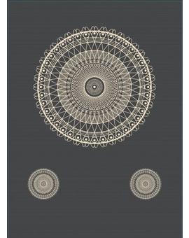 Sedací vak Triangle Lace Dark Grey | Wegett
