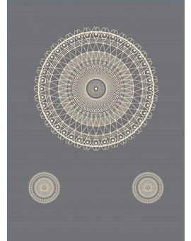 Sedací vak Triangle Lace Grey | Wegett