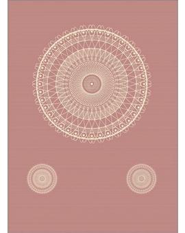 Sedací vak Triangle Lace Old Pink | Wegett