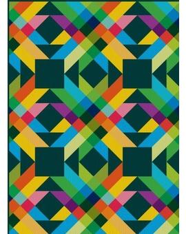 Sedací vak Triangle Zig Zag 2 | Wegett