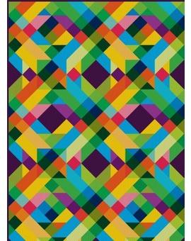 Sedací vak Triangle Zig Zag 1 | Wegett