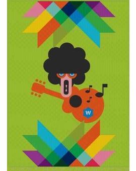 Sedací vak Simple Guitarist | Wegett