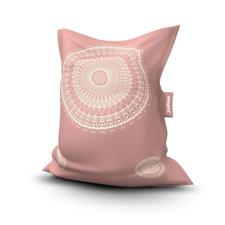 Sedací vak Simple Lace Old Pink   Wegett