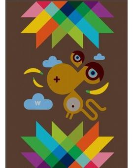 Sedací vak Simple Monkey | Wegett