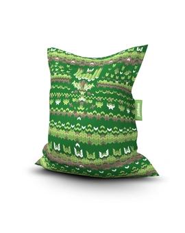 Sedací vak Simple Sweater Green | Wegett