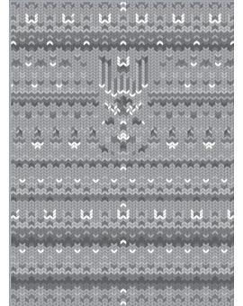 Sedací vak Simple Sweater Grey | Wegett