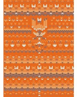 Sedací vak Simple Sweater Orange | Wegett
