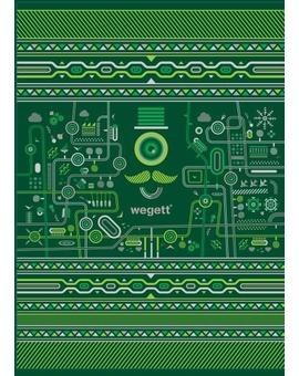 Sedací vak Simple Urban Green | Wegett