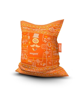 Sedací vak Simple Urban Orange | Wegett