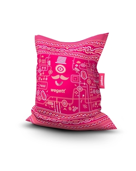 Sedací vak Simple Urban Pink | Wegett