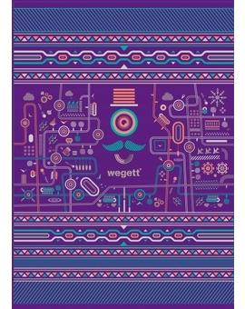 Sedací vak Simple Urban Purple | Wegett