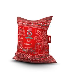 Sedací vak Simple Urban Red | Wegett